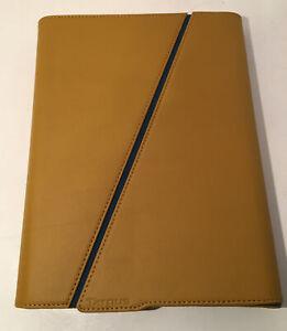 Apple iPad Tablet Leather Case For iPad Targus Z-Case Portfolio Gold