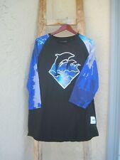 Pink Dolphin T Shirt 3/4 Long Sleeve Women's XXL