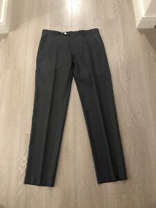 """Men's Ted Baker Charcoal Pants 32"""" Great Cond"""