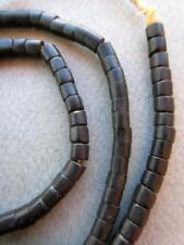 Antique Black Masai Beads [67854]