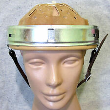 German Helmet Liner with split pins and leather strap. Reproduction 68/61n.A