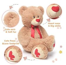 MaoGoLan Giant Teddy Bear Large Stuffed Animals Plush Big Bear Valentine's Heart
