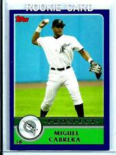 2003 Topps Traded # T126 Rookie Prospect Miguel Cabrera Detroit Tigers