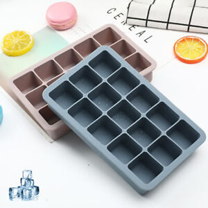 Grid Silicone Ice Cube Mold Maker Silicone Ice Cube Tray Lid Kitchen Gadgets HL