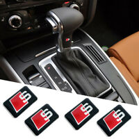 5 Pcs S Line ABS Emblems Badge Interior & Alloy Wheel Sticker Decal All Model