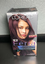 Loreal, Feria, Hair Color, Light Auburn Black, 32   Sealed in Box