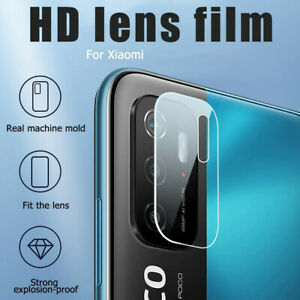 Back Camera Lens Tempered Glass For Xiaomi Poco X3 NFC X3 Pro F3 M3 11 Pro 10T 9
