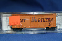 N Scale MTL Micro Trains 40' Standard Box Car Great Northern 20166