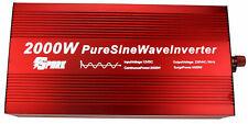 2000 W (4000 W pico) DC 12 V AC 240 V onda senoidal pura energía inversor Máquina De Café