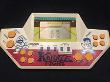 "Game & Wath CASIO ""KARATE FIGHT"" (CG-610) Vintage made in Japan"