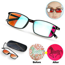 Color Blind Correction Glasses-For Red-Green Colorblindness anti-UV & Free case