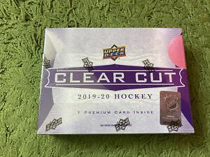 2019-20 Upper Deck Clear Cut Hockey Sealed Box BB08782047