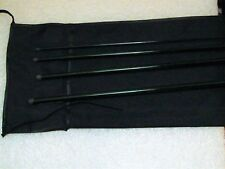 "Crh Graphite 4 pc 7' 9"" 3 wt medium fast action glossy green fly rod blank"