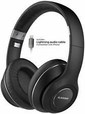 Bluetooth iPhone Headphones w Apple MFi Lightning Cord w Mic Wireless Earphones