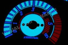 Land Rover Freelander mk1 2.0 diesel interior dash custom lighting dial kit