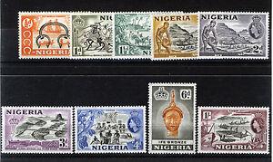NIGERIA 1953-58 DEFINITIVES SG69/76 BLOCKS OF 4 MNH
