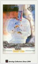 1996/97 Futera Cricket Decider Acetate Card Run Machine RM5: Stuart Law