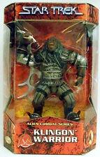 """Star Trek Alien Combat Series Klingon Warrior 8"""" Action Figure."""