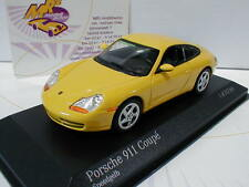 "Minichamps 400061182 # Porsche 911 (996) Coupe Baujahr 1998 in "" gelb "" 1:43"