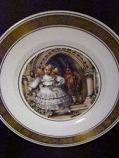 Royal Copenhagen Hans Christian Anderson The Red Shoes Ltd Ed Plate
