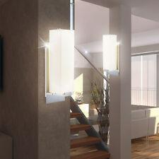 Luxus 2er Set LED Wandleuchten Schlafzimmer Leselampen Glasschirm satiniert IP20