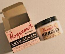 Vintage 1960s Noxema Cold Cream in Original Jar and Box  NOS Rare - 2361