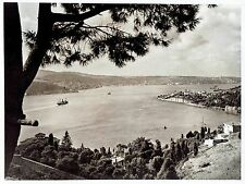 1940 Vintage Photo by ACME aerial view of the Bosphorus in the Country of Turkey