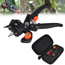 Garden Nursery Fruit Tree Pro Pruning Shears Scissor Grafting Cutting Tools +Box