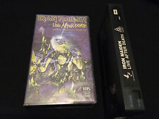 IRON MAIDEN LIVE AFTER DEATH WORLD SLAVERY TOUR '85 AUSTRALIAN VHS VIDEO