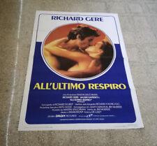 MANIFESTO ALL'ULTIMO RESPIRO RICHARD GERE VALERIE KAPRISKY M1