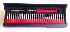 Wurth 29 Pièce Précision Mécanicien Embout Tournevis 06134895