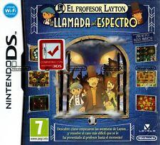 ¡Nuevo y precintado! El profesor Layton y la llamada del espectro (Nintendo DS)