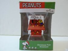 Hallmark Peanuts Snoopy Dog House Ornament 1st Place New In Box Xmas