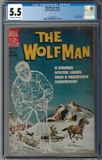 CGC 5.5 THE WOLFMAN #NN 1ST PRINT 1963 DELL MOVIE CLASSIC PAINTED WEREWOLF COVER
