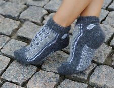 100% Wolle Socken Gr. 38-40 M Kurzsocken Sneaker Thermosocken Neu