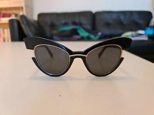 Max Mara MM Ingrid 807 IR Black Sunglasses - Perfect for Summer