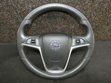 Original Opel Insignia Multifunktionslenkrad Leder Schwarz Tempomat 13316547