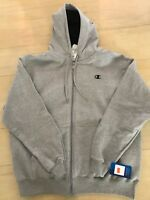 Grey Champion Men's Full-zip Eco Fleece Hoodie Jacket