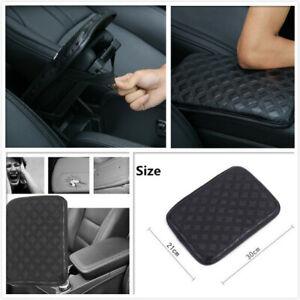 30x21cm Auto Car Leather Armrest Pad Trim Cover Center Console Box Accessories