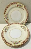 Noritake Harmony 5 Piece Bread & Butter Bone China Made in Occupied Japan A+