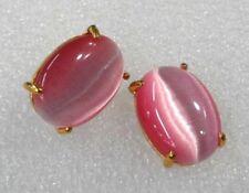 12mm gelb Opal Laver zurück Ohrringe Opal Ohrringe