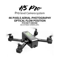 2.4G 4K 1080P HD Camera RC Drone Foldable FPV WiFi Selfie Quadcopter Flow Me Toy