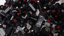Lego 12 Random Wheels & axles car truck lorry Vehicles Town City vintage 6 pairs