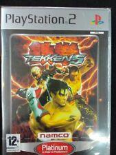 Tekken 5 nuevo y precintado para playstation 2