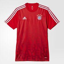 ADIDAS - BAYERN MUNICH - Youth Boy's, Girl's Soccer Jersey Shirt - Red - Size XS