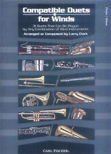 Compatible Duets for Winds Querflöte Oboe Noten