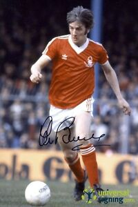 Stan Bowles Nottingham Forest Hand Signed 12x8 Photo. See PROOF Of Signing.