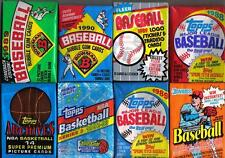 6 Mint Basketball and Baseball Wax Packs - POSSIBLE JORDAN and SHAQ Rookie