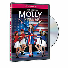 American Girl DVD MOLLY AN AMERICAN GIRL ON THE HOME FRONT DELUXE ED Retired NEW