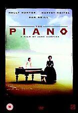 THE PIANO GENUINE R2 DVD HOLLY HUNTER HARVEY KEITEL SAM NEILL NEW/SEALED